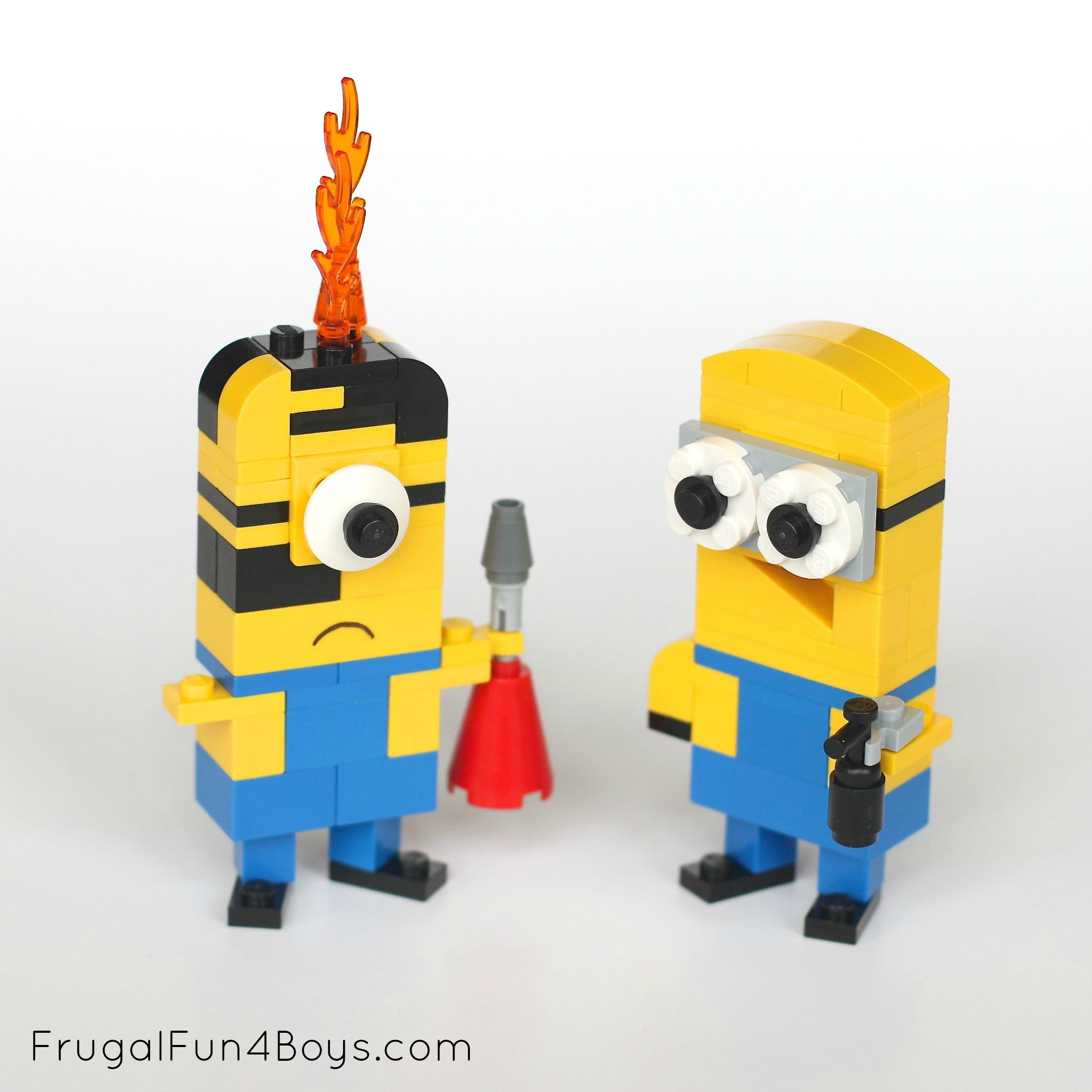 50  Lego Building Projects for Kids     Frugal Fun For Boys and Girls How to Build LEGO Minions