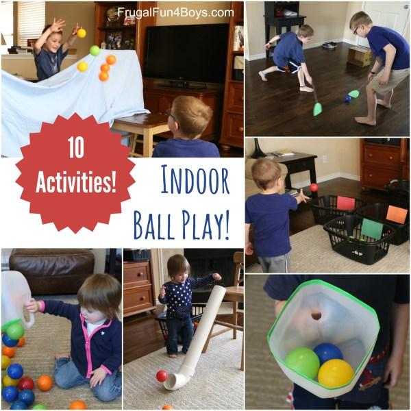 10 Ball Games for Kids     Ideas for Active Play Indoors  10 Indoor Ball Games for Kids