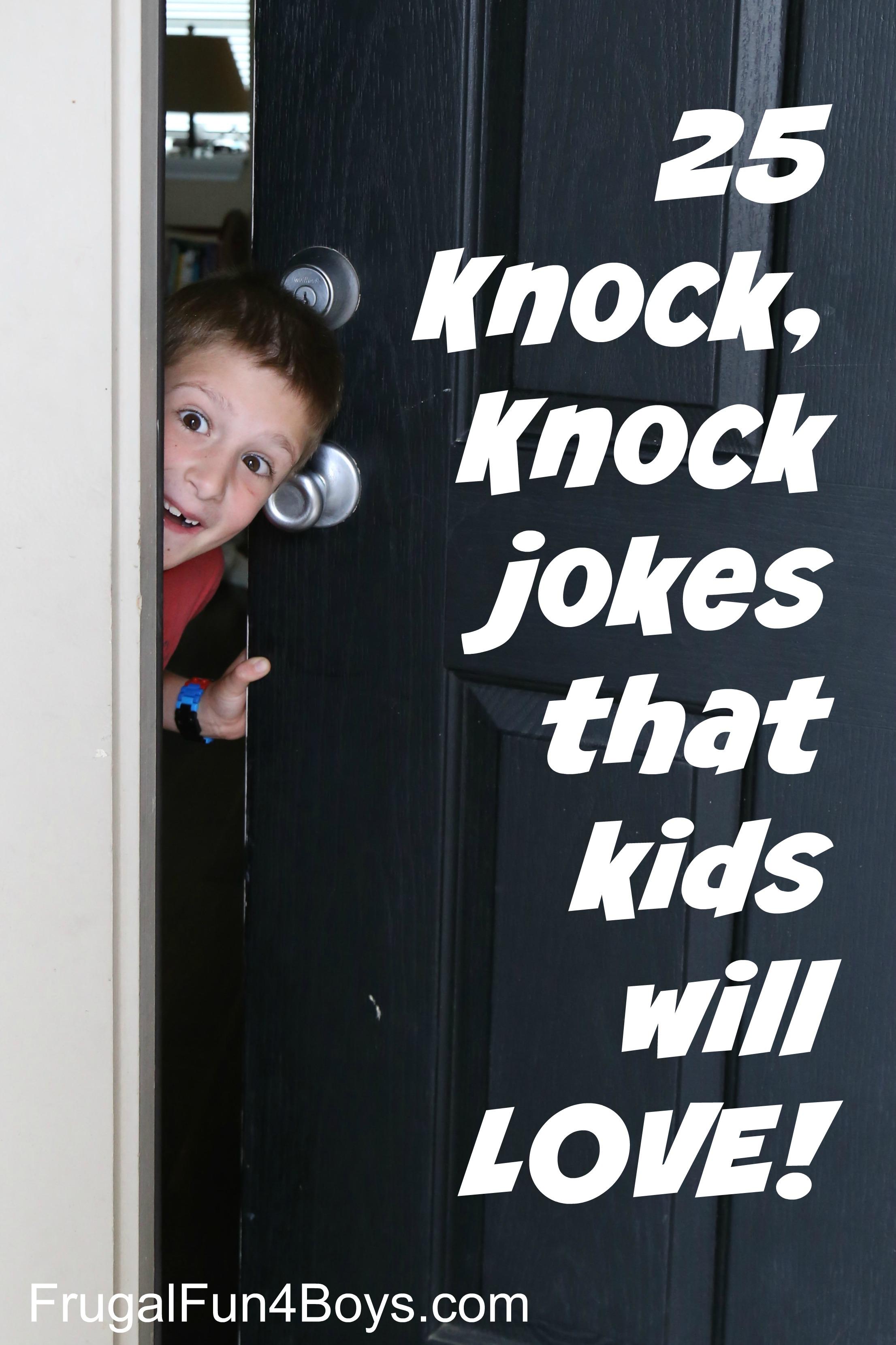 Image of: Urdu 25 Hilarious Knock Knock Jokes For Kids Frugal Fun For Boys 25 Hilarious Knock Knock Jokes For Kids Frugal Fun For Boys And Girls