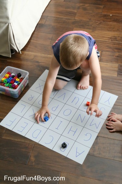 Four Simple Alphabet Games that Preschoolers will Love Four Simple Alphabet Games for Preschoolers