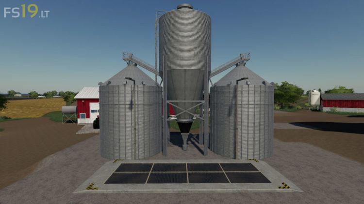 Silo Pack With Extension V 4 0 Fs19 Mods Farming Simulator 19 Mods