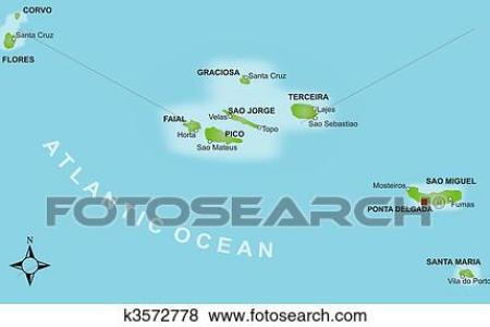 map of sao jorge azores » Full HD MAPS Locations - Another World ...