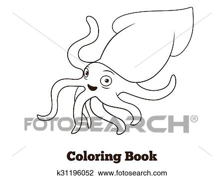 squid coloring # 40