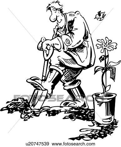 , spring, garden, gardening, seasons, trade, people ...