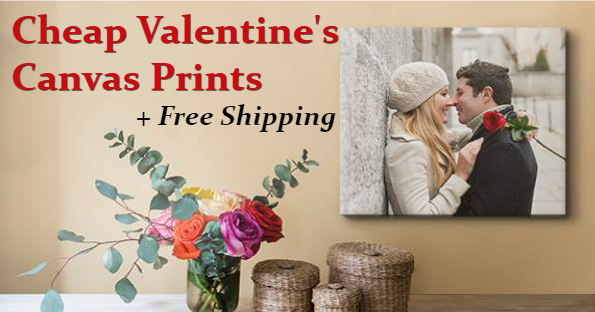 Free Shipping on Valentine's Day Canvas from Easy Canvas ...