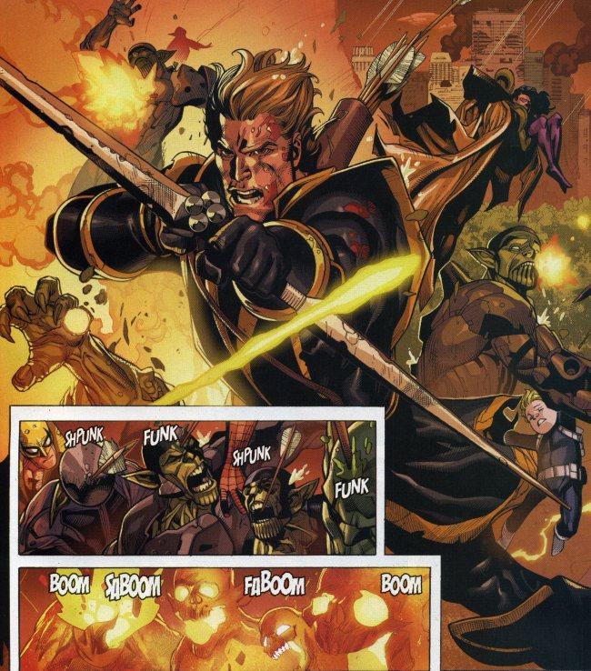 'Avengers 4' Photos Hint at Hawkeye's Ronin Identity | Inverse