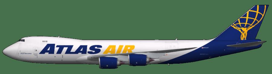 Atlas Air 747 8f Faib Fsx Ai Bureau