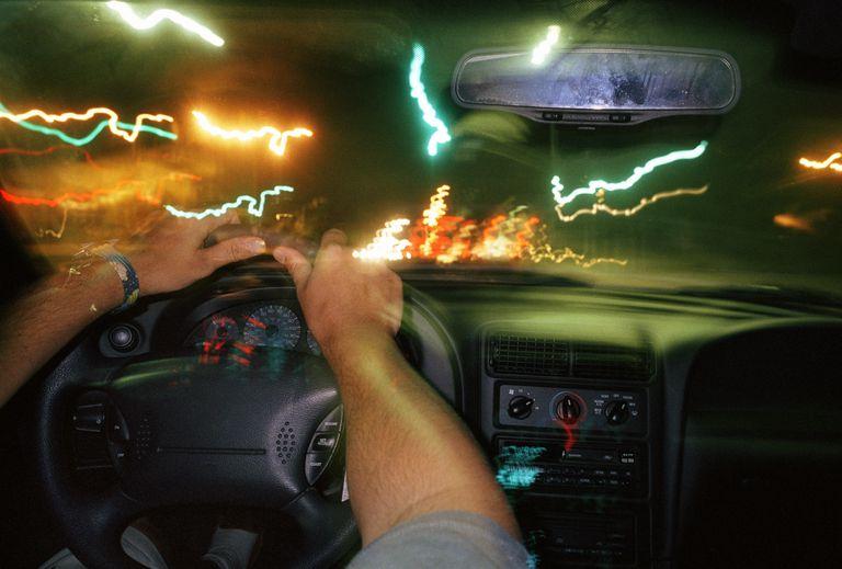 Flickering Lights Car