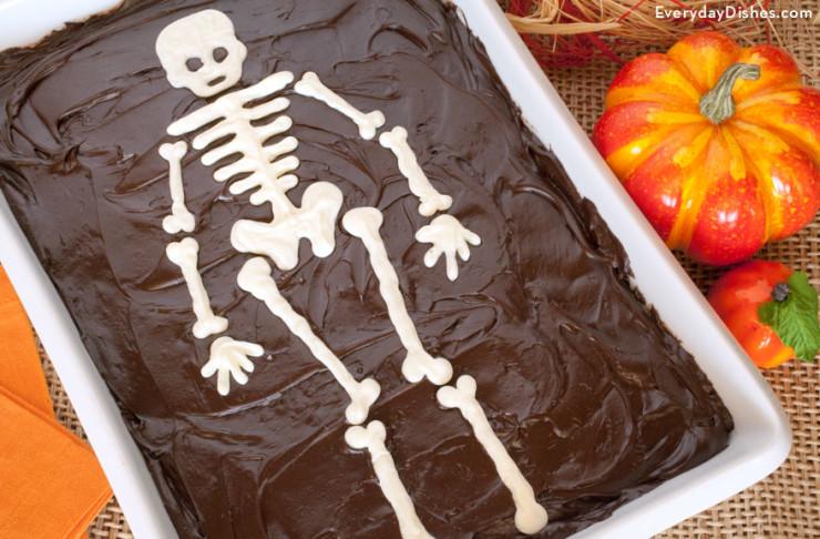 Skeleton Cake Fun Family Crafts