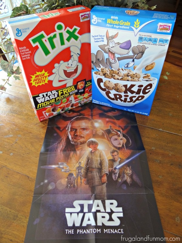Galaxy Cupcakes And Big G Cereals With Star Wars Product