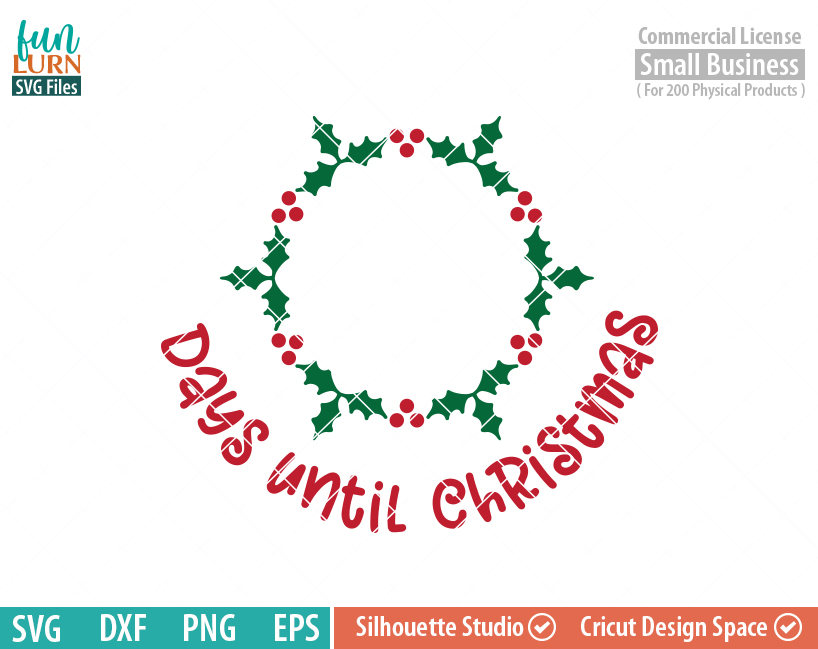 christmas wreath free svg files