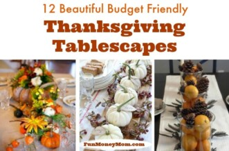 Thanksgiving tablescapes feature