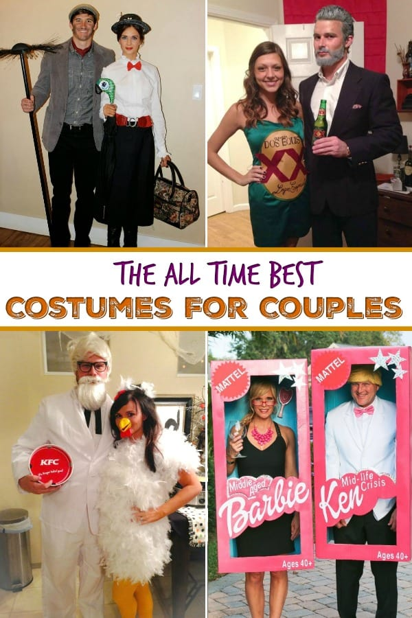 Halloween Costumes For Couples - Looking for fun and original couples costumes for Halloween? These costumes are unique and entertaining, and sure to win some costume contests! #Halloweencostumes #halloweencostumesforcouples #couplescostumes #Halloween