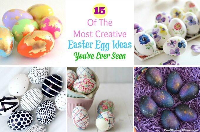 Super creative Easter egg ideas