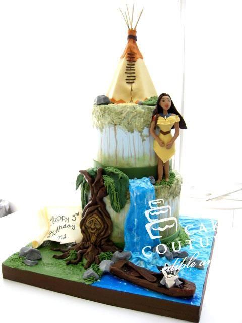 Disney princess cakes Pocahontas