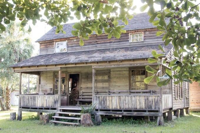 Cabin at the Crowley Museum in Sarasota