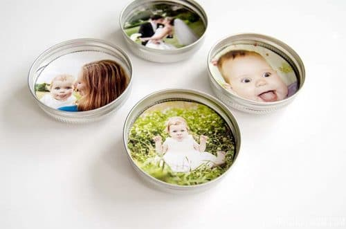 creative photo crafts - magnets