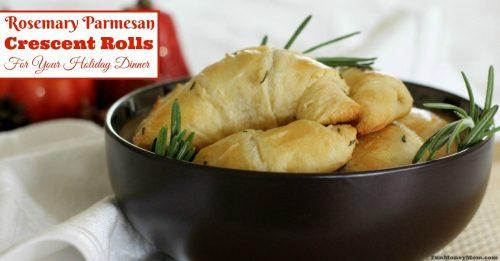 Rosemary crescent rolls
