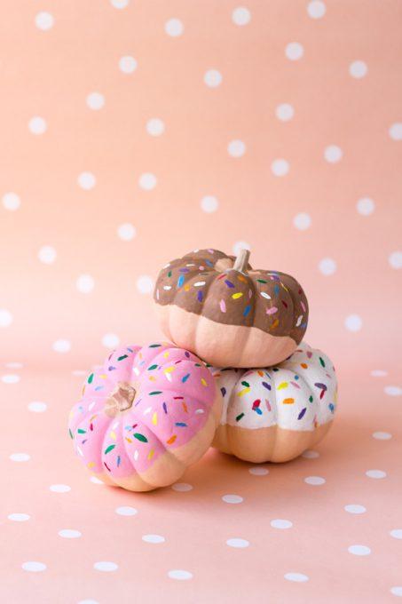 Doughnuts No Carve Pumpkins