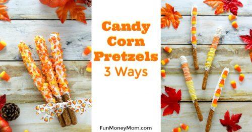 Candy Corn Pretzels facebook