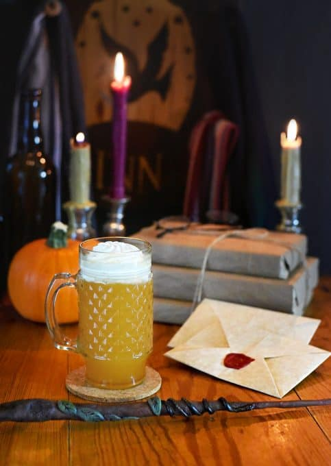 Boozy butterbeer is a great adult Harry Potter recipe