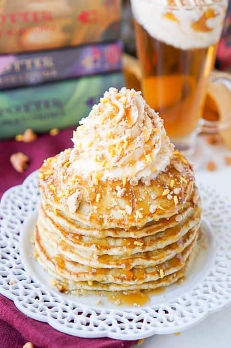 Harry Potter breakfast recipe butterbeer pancakes