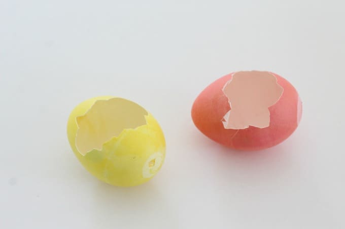 Who knew that these broken eggs would turn into Easter egg monsters?!