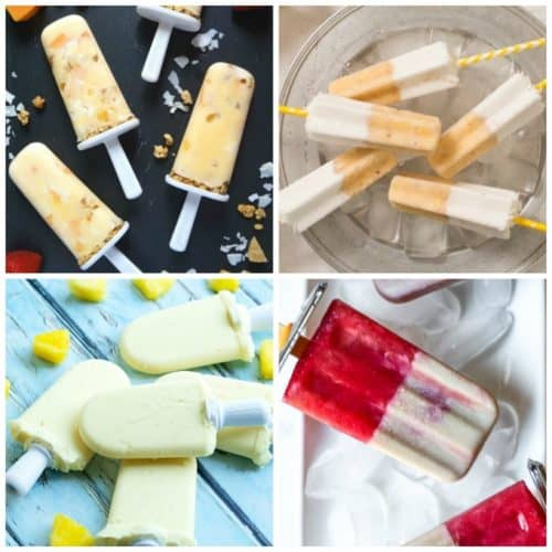 Tropical Homemade Popsicles