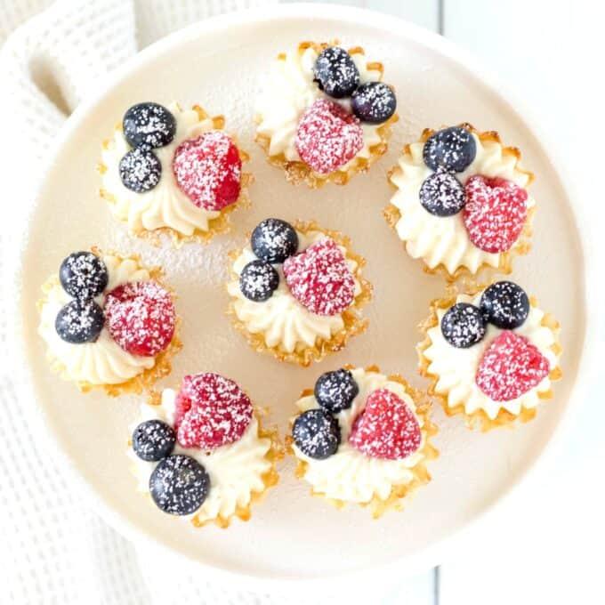 Cheesecake bites IG