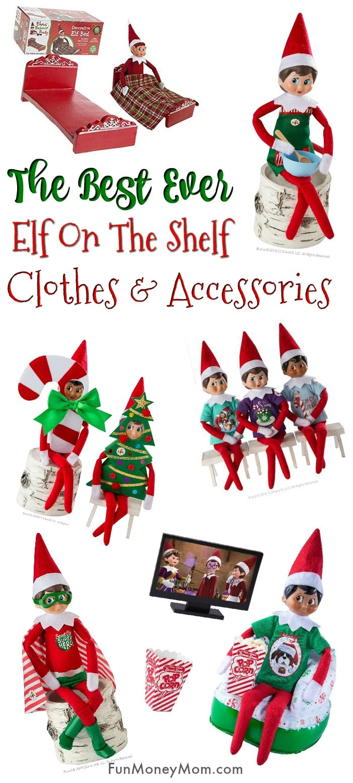 Elf On The Shelf Clothes and Accessories Pin