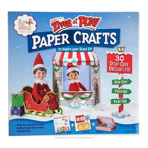 Fun paper crafts for the Elf On The Shelf