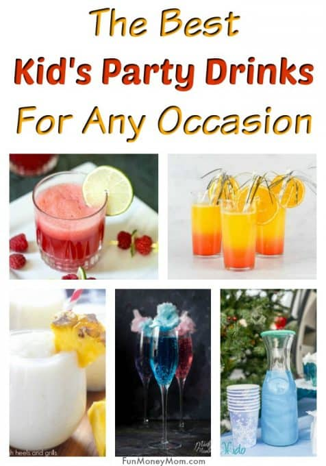 Kid's Party Drinks - Need New Year's Eve drinks for kids? From cotton candy mocktails to drinks that sparkle, these kid's mocktails are perfect for New Year's Eve or any other occasion. #partydrinksforkids #kidspartydrinks #birthdayparties #newyearsforkids #mocktails