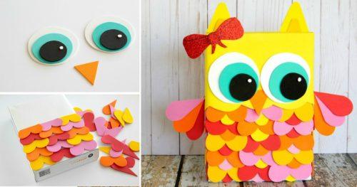 felt craft bird