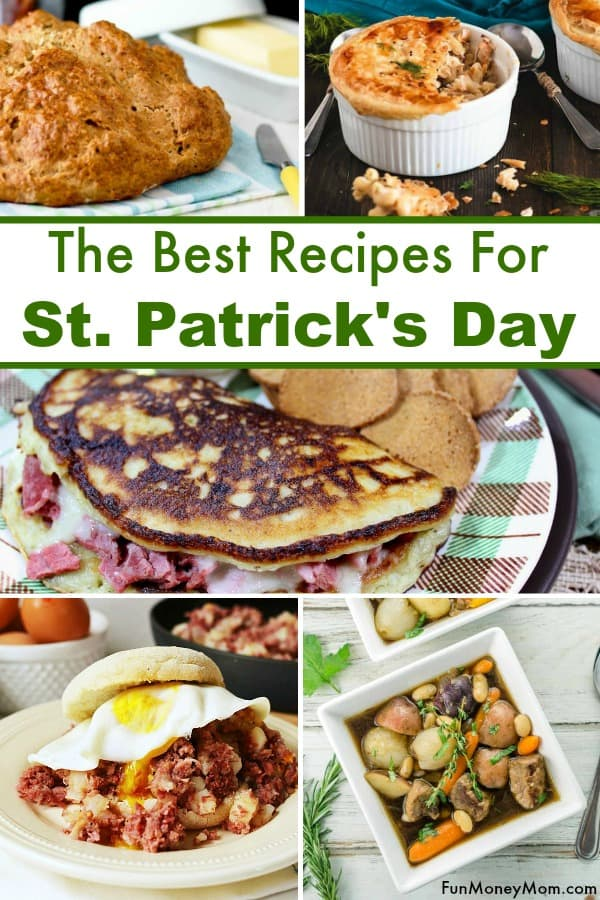 St. Patrick's Day Recipes - Looking for the best St. Patrick's Day food ideas? From Shepherds Pie to Irish Soda Bread, this food for St. Patrick's Day is perfect for celebrating #irishfood #irishrecipes #stpatricksday #stpatricksdayfood #stpatricksdayrecipes