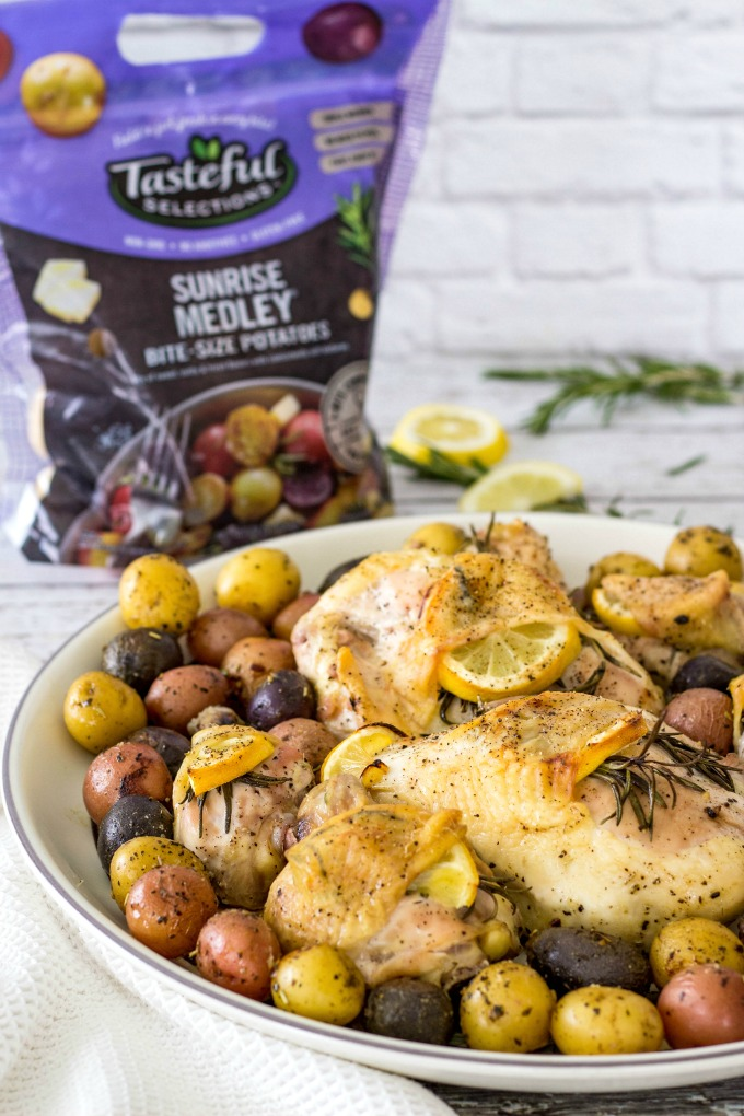 Chicken with Tasteful Selections Sunrise Medley
