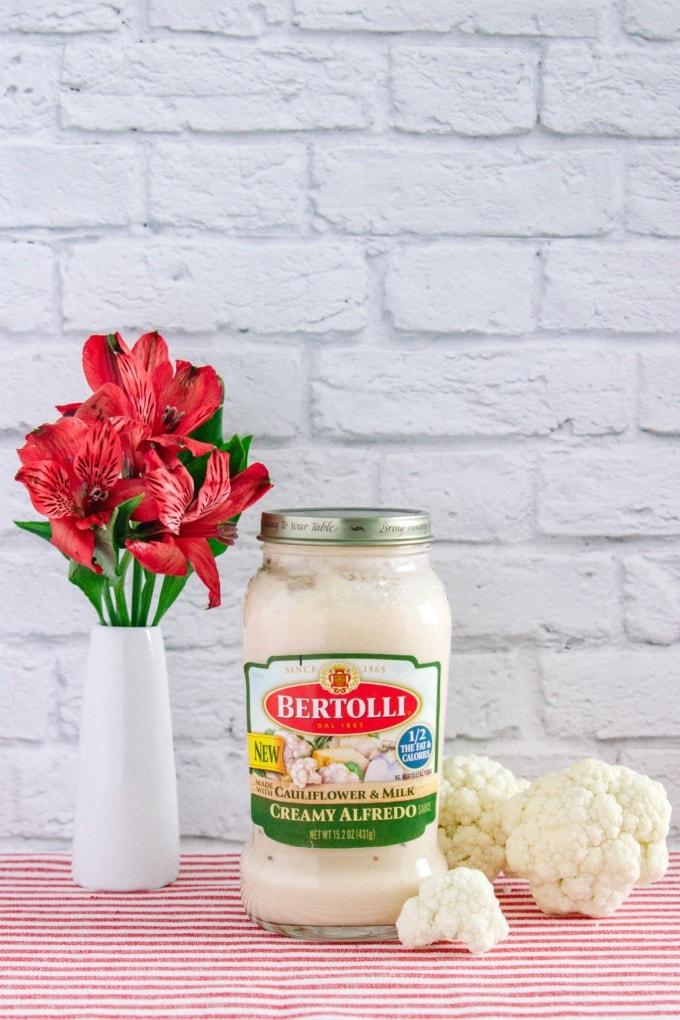 Bertolli Creamy Alfredo with Cauliflower and Milk