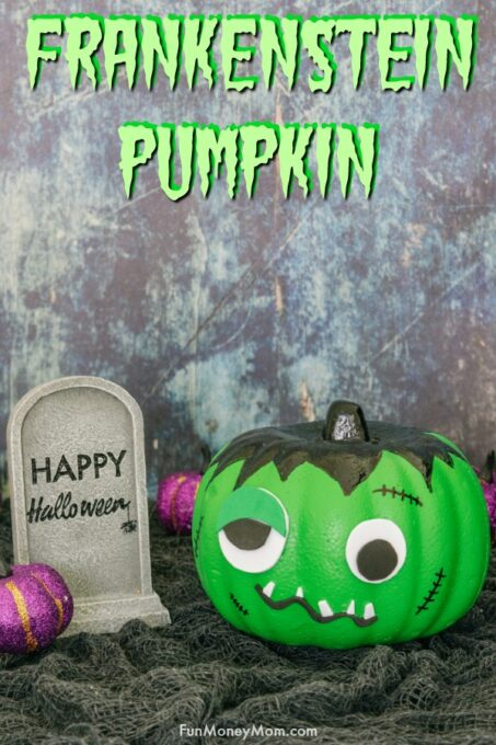 Frankenstein Pumpkin Pin 1