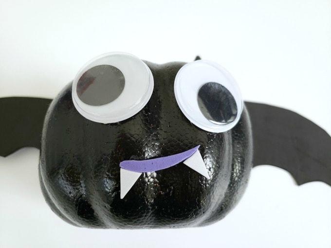 bat eyes and mouth