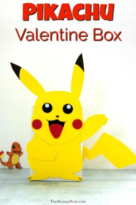 Pikachu Valentine Box Pin