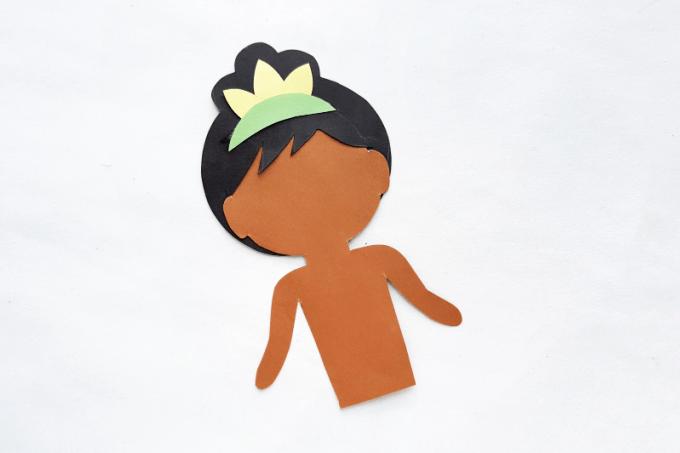 Crown for Disney princess Tiana