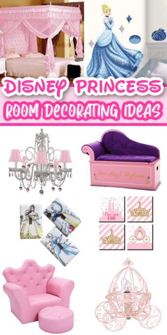 Pictures of Disney princess room decor