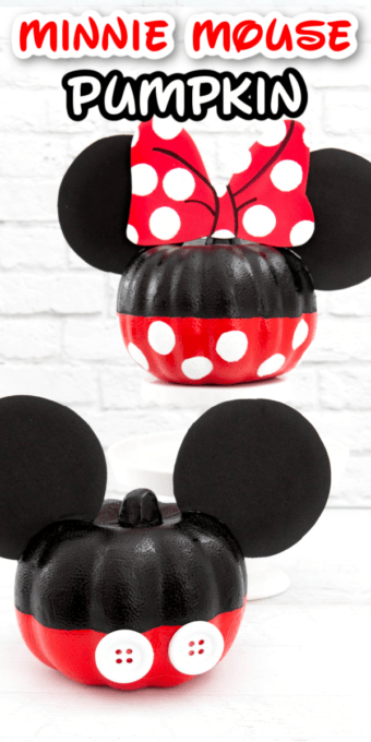 Minnie Mouse Pumpkin Pin 3