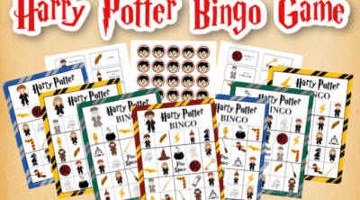 Harry Potter Bingo Game Printables