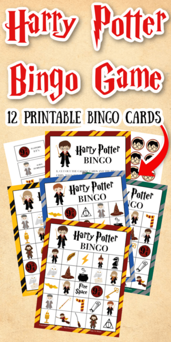 Harry Potter Bingo Game Pin 1