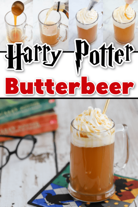 Harry Potter Butterbeer with tutorial images
