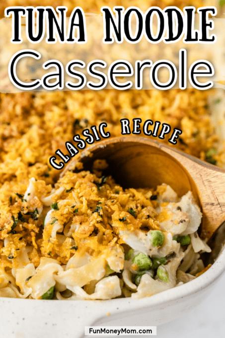 Dinner Casserole being served