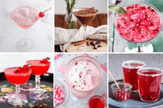 Valentine Cocktails feature