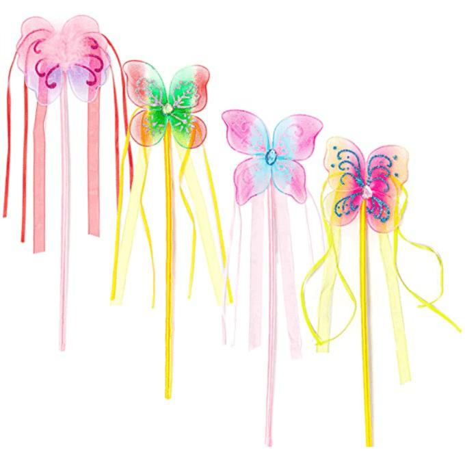 Princess party favor wands