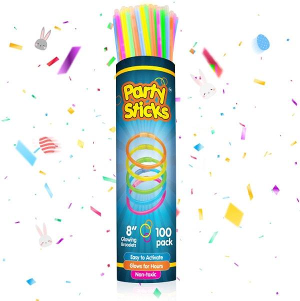 Glow in the dark party sticks