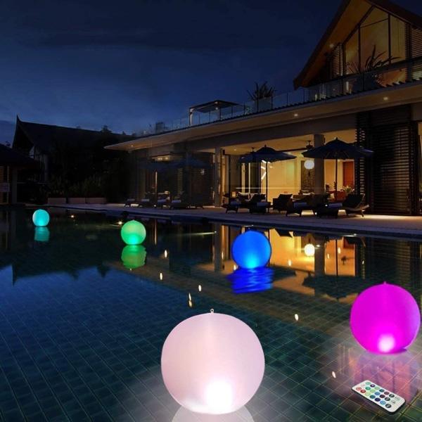 Light up beach balls